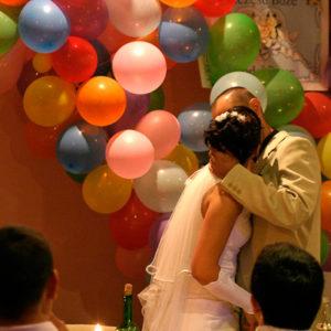 balonikowy ślub