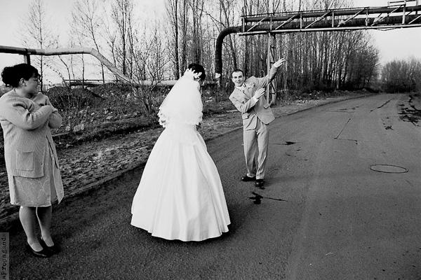 Czarno – biały ślub
