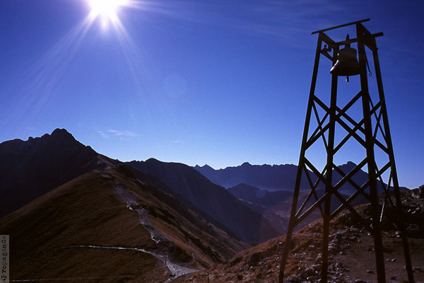 Góry w fotografii analogowej