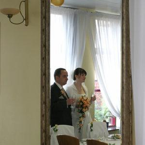lustro w weselnej roli głównej