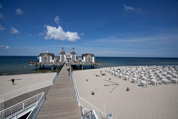 Plaża na Wyspie Rugia, fotografowanie morza, by Wojtek