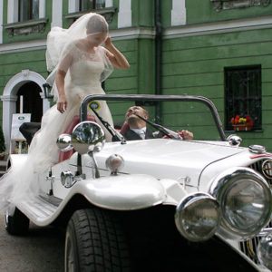 samochodzikowy ślub