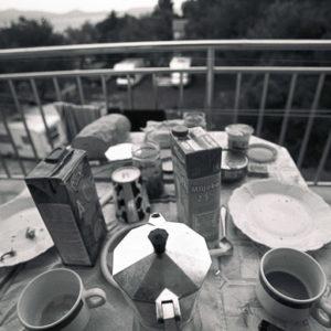 Śniadanie na tarasie by Wojtek
