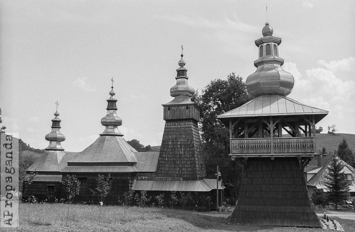 Cerkwie w okolicach Krynicy Zdrój, fotografia by Ola