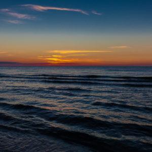 Magiczny zachód słońca fotografia morska, by Ola
